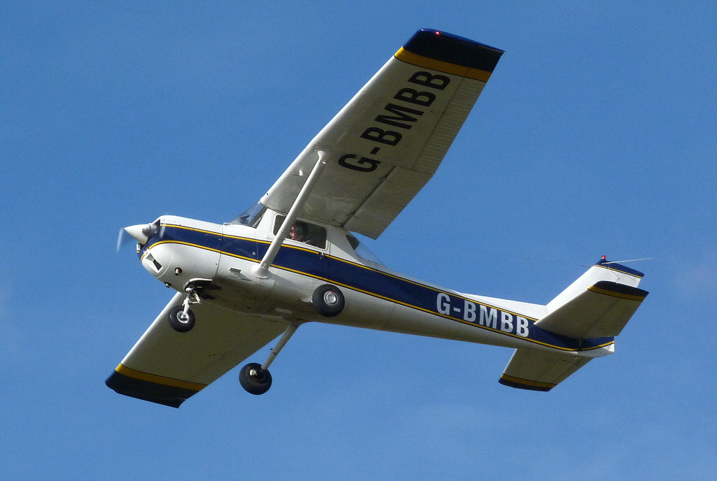 Reims Aviation Cessna F150L  G-BMBB<br /> By Clive Featherstone