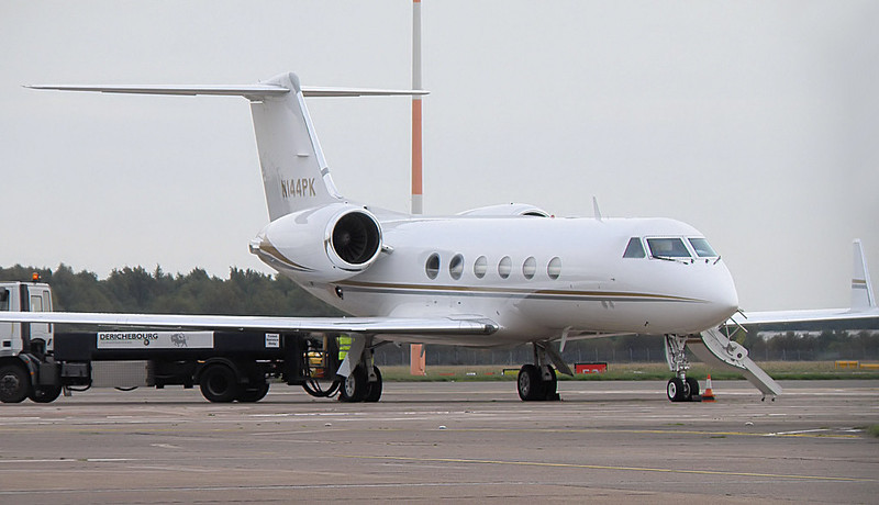 PK Aire Gulfstream IV  N144PK<br /> By Correne Calow.