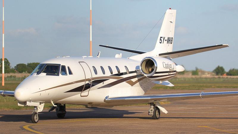 Cessna 560XL Citation Excel 5Y-WHB<br /> By Jim Calow.