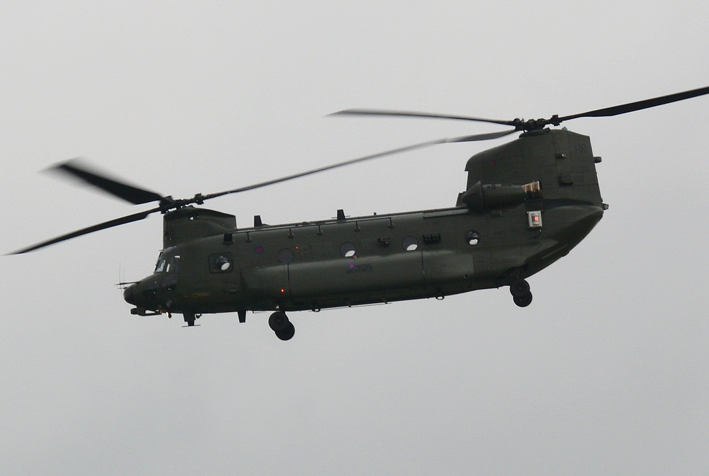 Chinook ZH903<br /> By Clive Featherstone.