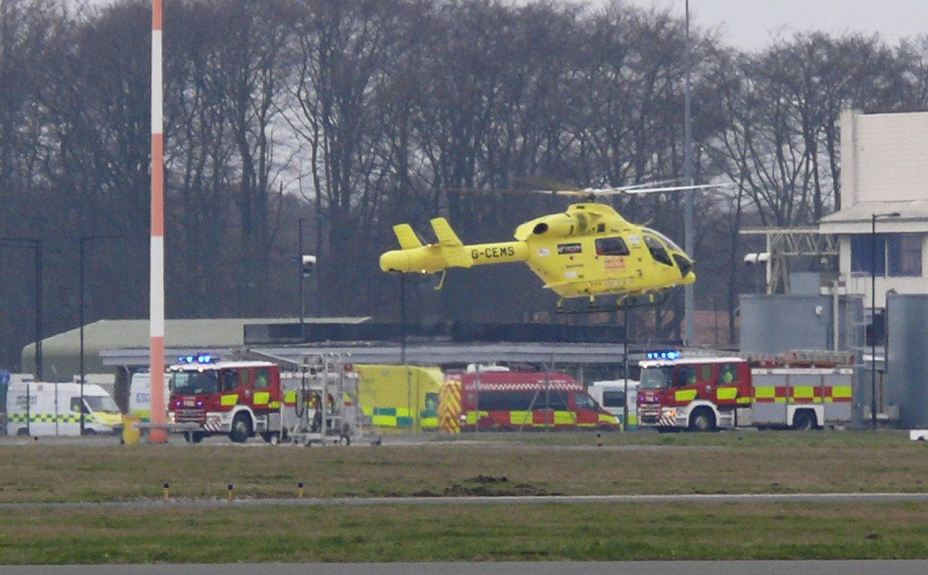 G-CEMS & emergency vehicles<br /> By Clive Featherstone.