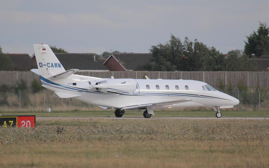 Aerowest Cessna 560XLS Citation XLS D-CAWM.<br /> By Jim Calow.