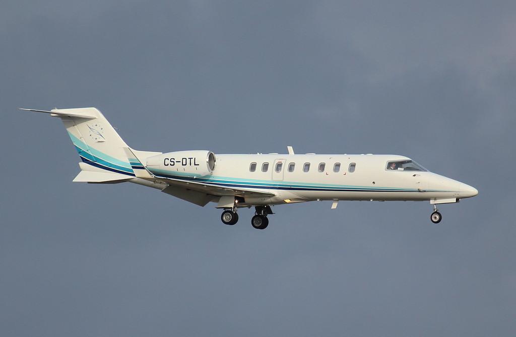 Learjet 45 CS-DTL<br /> By Jim Calow.