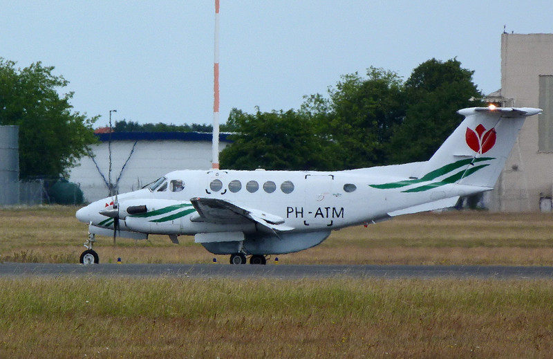 Skyline Aviation Beech 200 Super King Air PH-ATM.<br /> By Clive Featherstone.