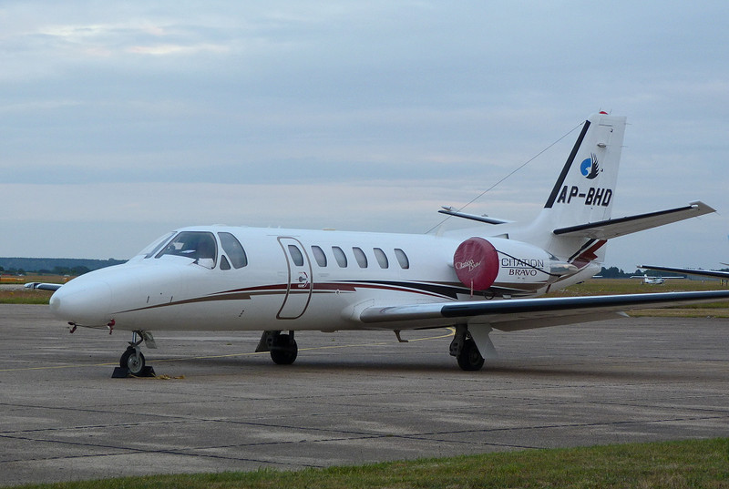 Finally parked outside the Kinch hangar.........the aircraft that shut DSA for almost 90 mins!<br /> By Clive Featherstone.