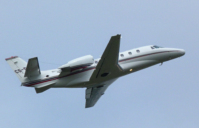 Netjets Cessna 560XL Citation Excel CS-DXS.<br /> By Clive Featherstone.