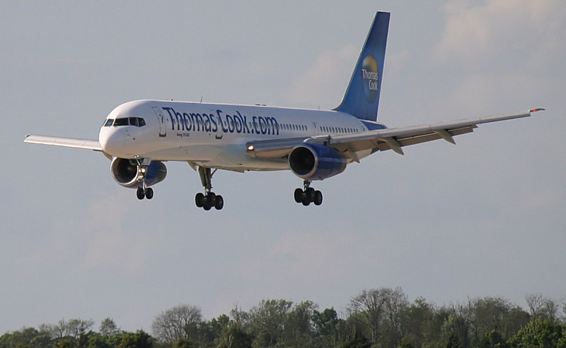 Thomas Cook 757-200 G-TCBA<br /> By Correne Calow.
