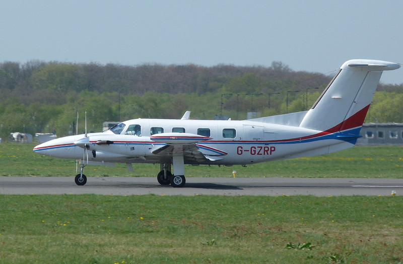 Air Medical Fleet  Piper PA-42-720 Cheyenne IIIA G-GZRP.<br /> By Clive Featherstone.
