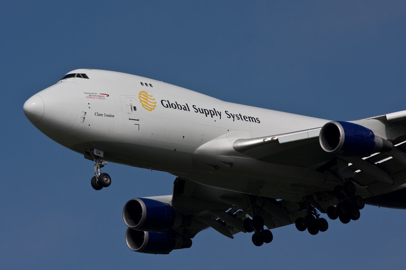 Global Supply 747-400 G-GSSA<br /> By David Bladen.