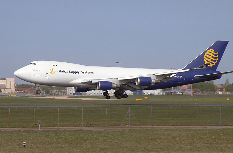 Global Supply 747-400 G-GSSA<br /> By Correne Calow