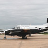 Beech 1962 U-8 Seminole (Queen Air) side lf