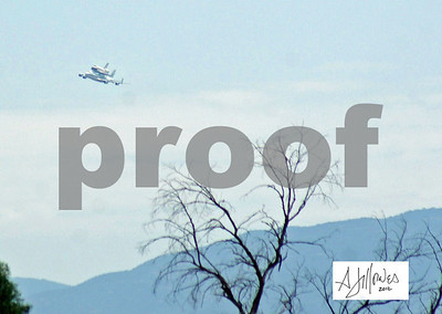 2012 Space Shuttle over Tucon 9/20