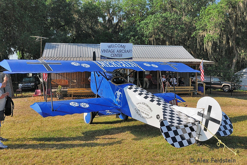 Fokker D-VII replica