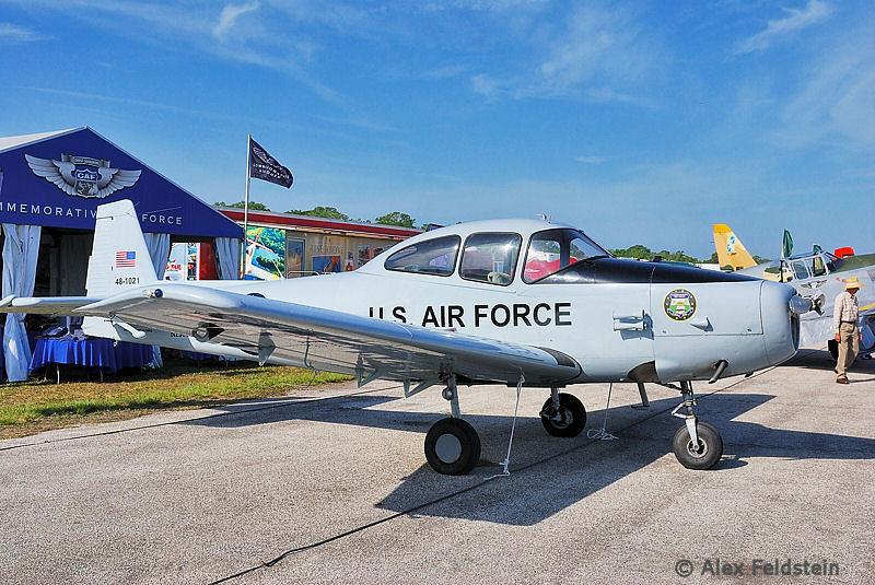 """Ryan L-17B Navion """"Allie Gator"""""""