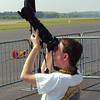 Here I am using my Nikon D300s camera with a Sigma 50-500mm lens.