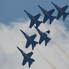 The Blue Angels soar the Tuscaloosa sky!
