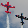 "This was a really fun flying duo to watch.  The ""Firebirds""."