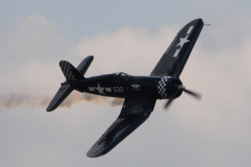 """This one of my favorite WWII aircraft.  The F4U Corsair.  The Japanese feared this plane and called it """"Whistling Death""""."""