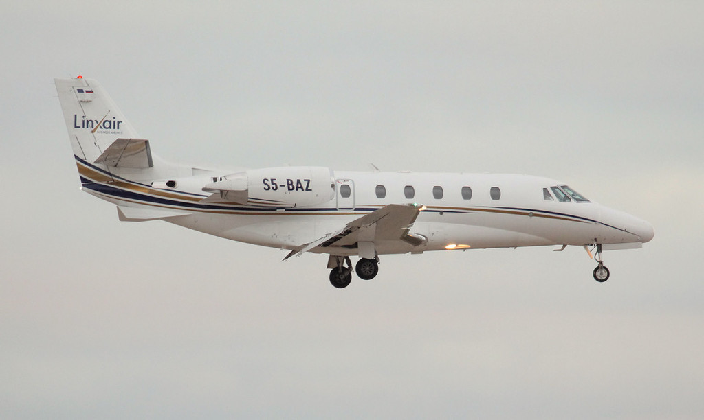 Linxair Cessna 560XL Citation Excel S5-BAZ<br /> By Jim Calow