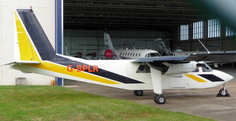Hebridean Air Service Ltd Pilatus Britten Norman BN2B-20 Islander G-BPLR.<br /> By Jim Calow.