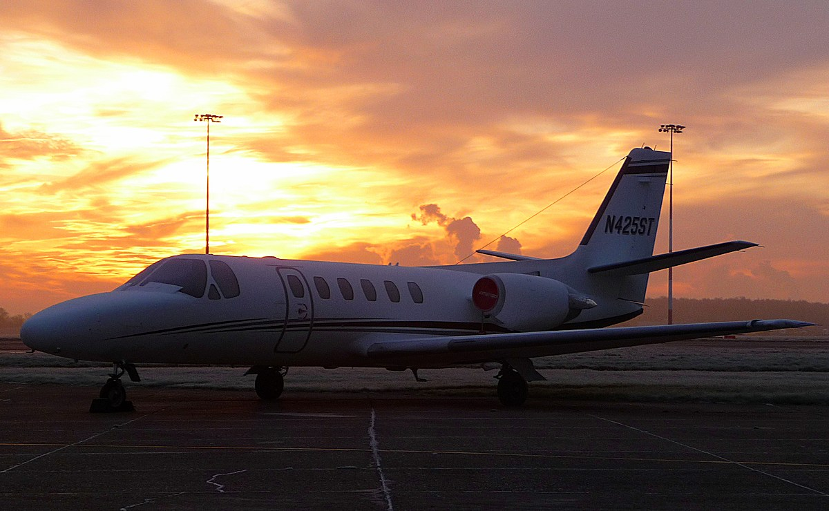 Cessna 550 Citation II N425ST<br /> By Correne Calow.