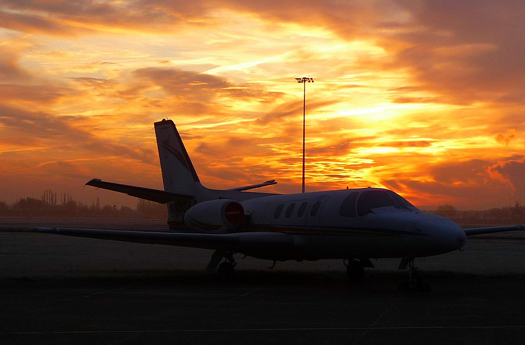 Cessna 500 Citation N80364<br /> By Correne Calow.