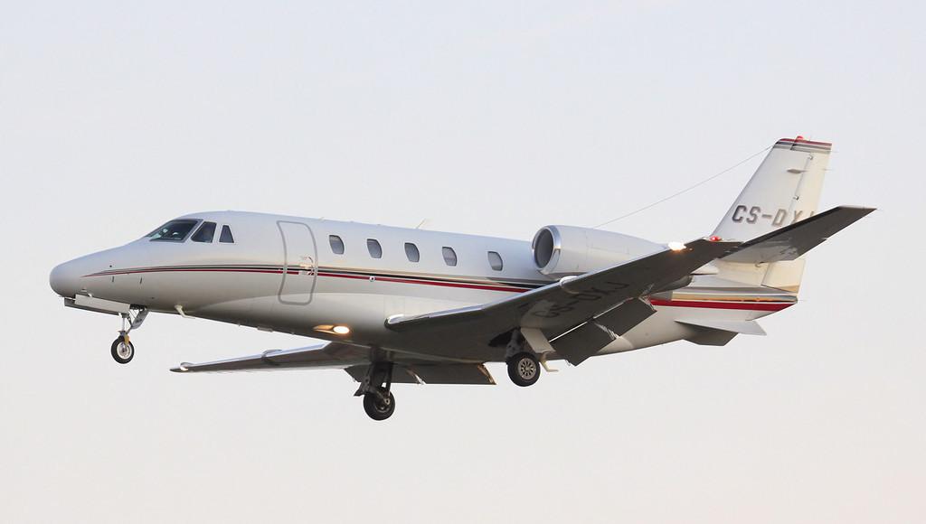 Netjets Cessna 560XLS Citation Excel CS-DXJ.<br /> By Jim Calow.