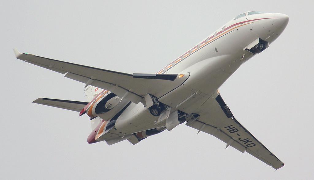 Nomad Aviation IAI Gulfstream G200 Galaxy HB-JKD.<br /> By Jim Calow.