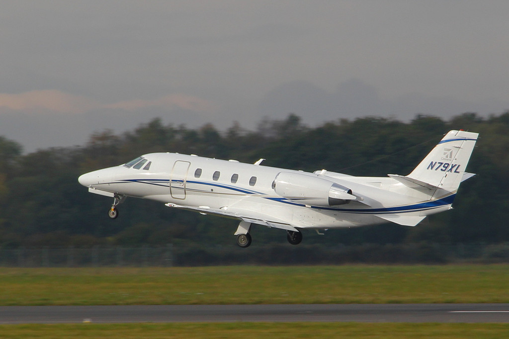 Cessna 560 Ctiation XLS+ N79XL.<br /> By Clive Featherstone.