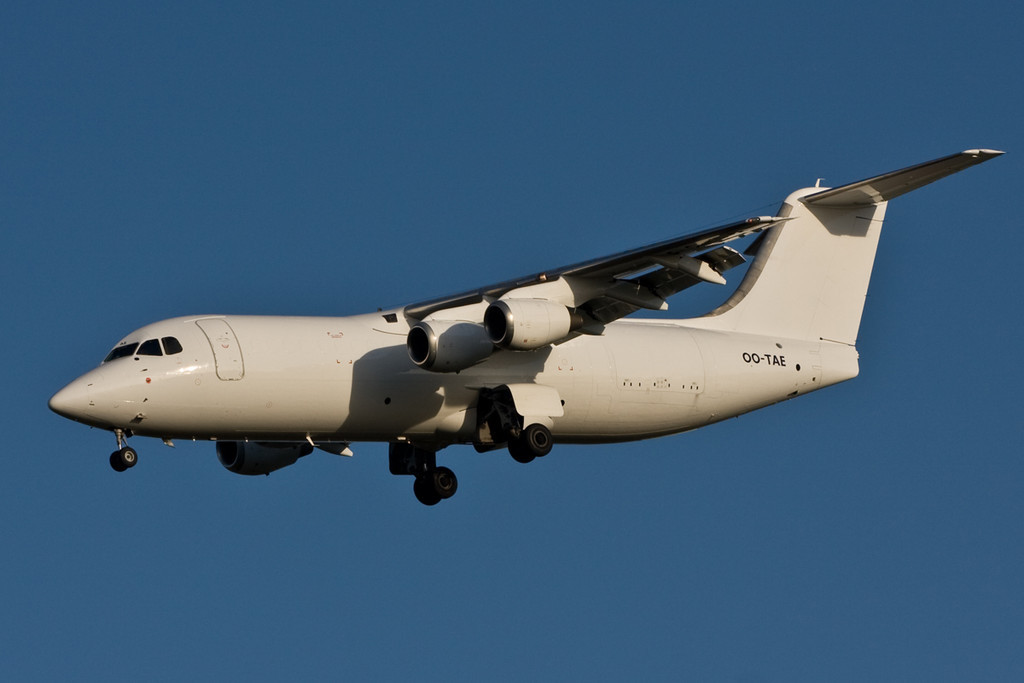 TNT BAe 146-300QT  OO-TAE<br /> By David Bladen.