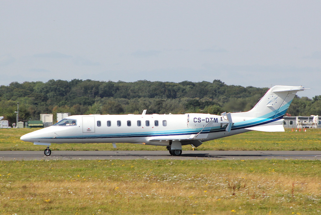 MasterJet Learjet 45XR  CS-DTM<br /> By Clive Featherstone.