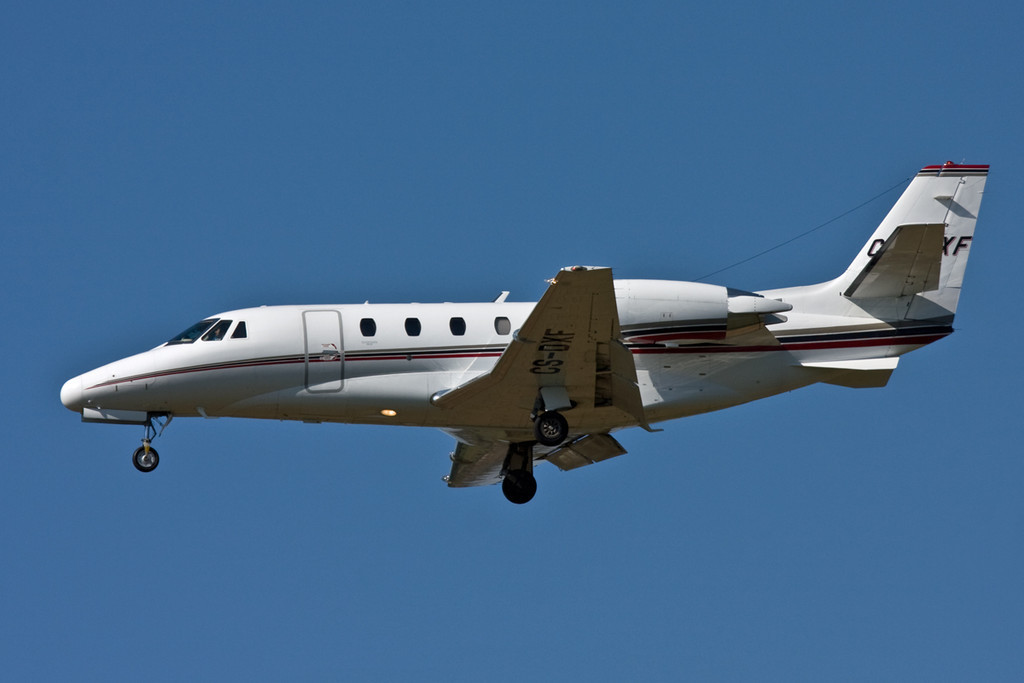 Netjets Cessna 560XL Citation Excel  CS-DXF<br /> By David Bladen.