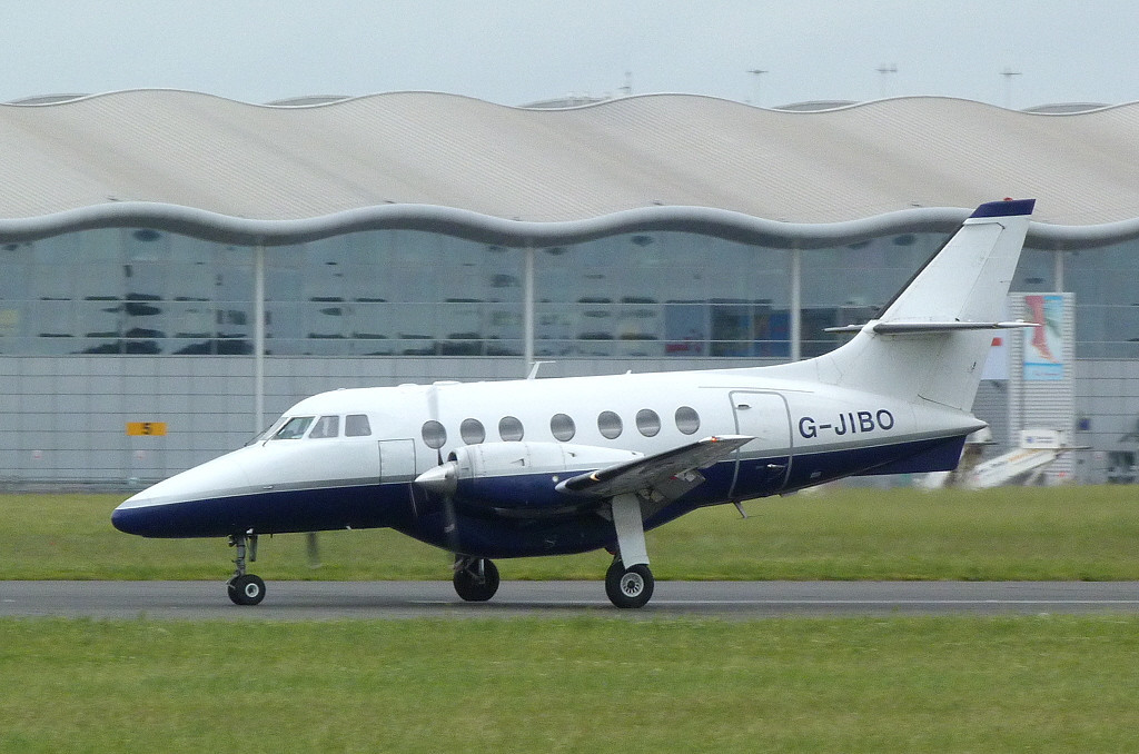 Manx2 (Links Air) BAe Jetstream 31 G-JIBO.<br /> By Clive Featherstone.