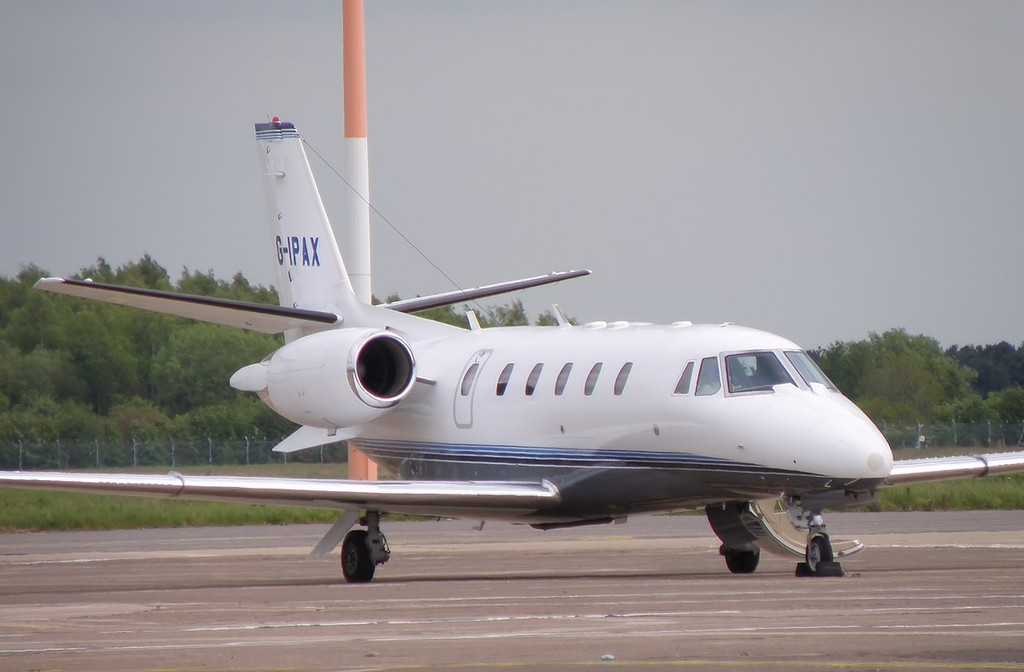 Cessna 560XL Citation Excel G-IPAX.<br /> By Correne Calow.