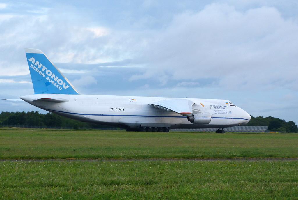 Antonov Design Bureau An-124 82072.<br /> By Clive Featherstone.