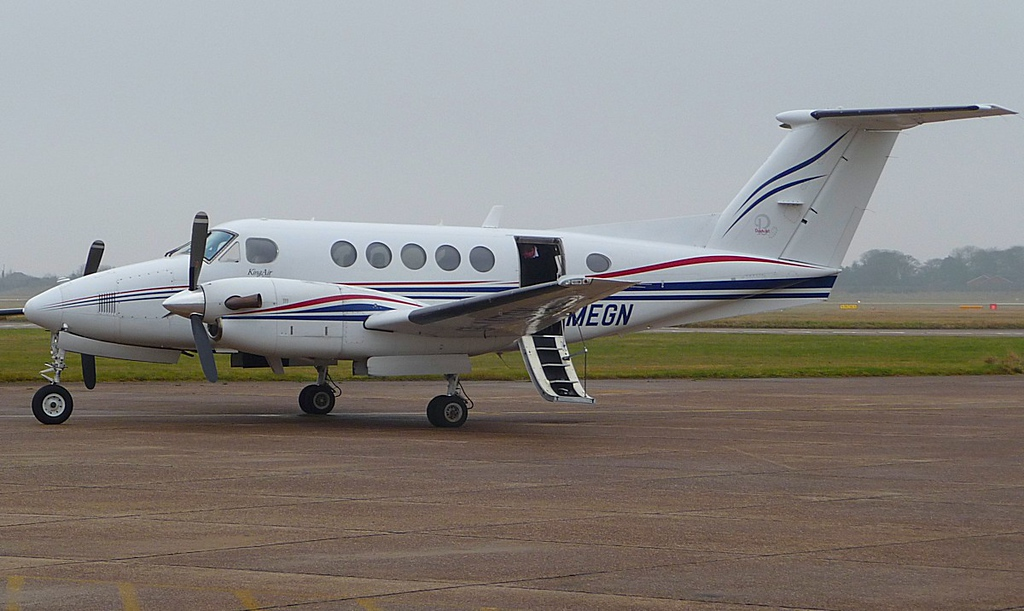 Beech B200 Super King Air G-MEGN<br /> By Correne Calow.