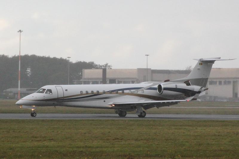 TAG Aviation (UK) Ltd  Embraer 135BJ  G-SYLJ<br /> By Clive Featherstone.