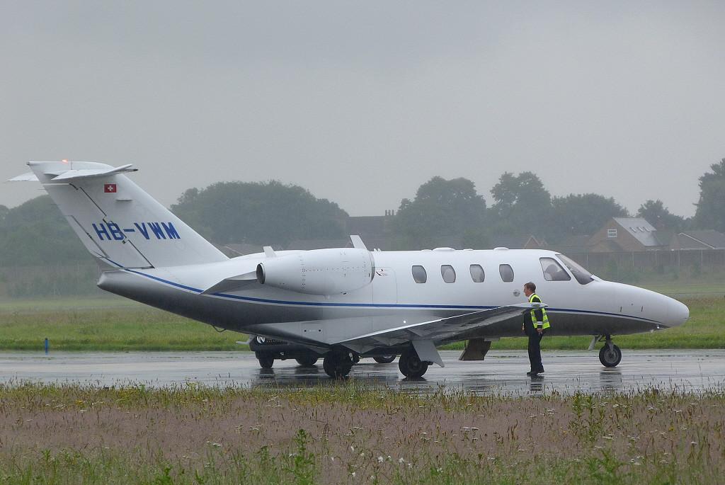 Nomad Aviation, Cessna 525 Citation CJ1+, HB-VWM <br /> By Clive Featherstone.