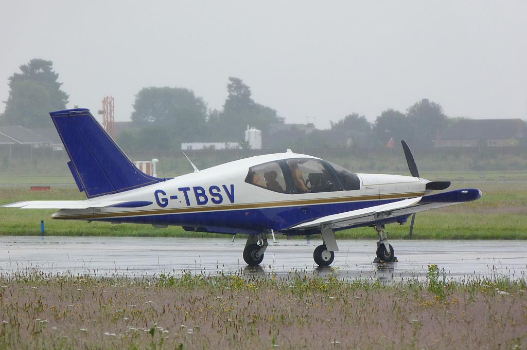 Socata TB-20 Trinidad GT, G-TBSV.<br /> By Clive Featherstone.