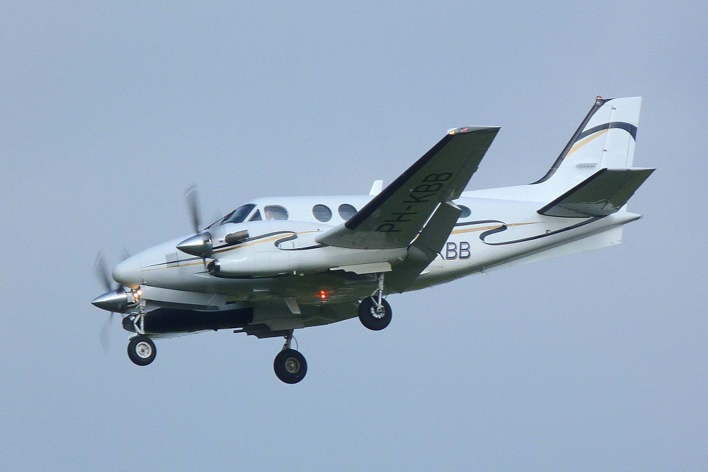 Offshore Marine Holdings Beech C90 King Air PH-KBB<br /> By Clive Featherstone.