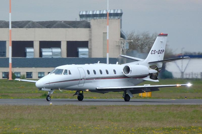 Netjets Citation 560XL CS-DXP<br /> By Clive Featherstone.