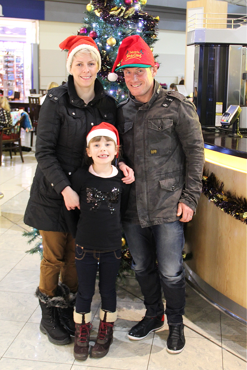 The Speight family off to see Santa<br /> By Clive Featherstone (courtesy of FODSA)