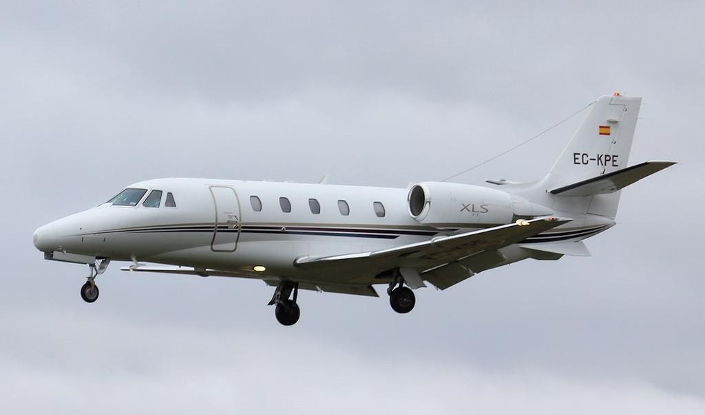 Corporatejets XXI S.A Cessna Citation 560 XLS EC-KPE.<br /> By Jim Calow.
