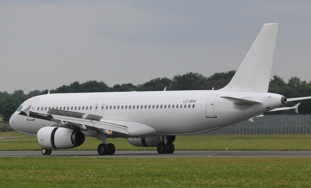 Balkan Holidays A320 LZ-BHG<br /> By Jim Calow.