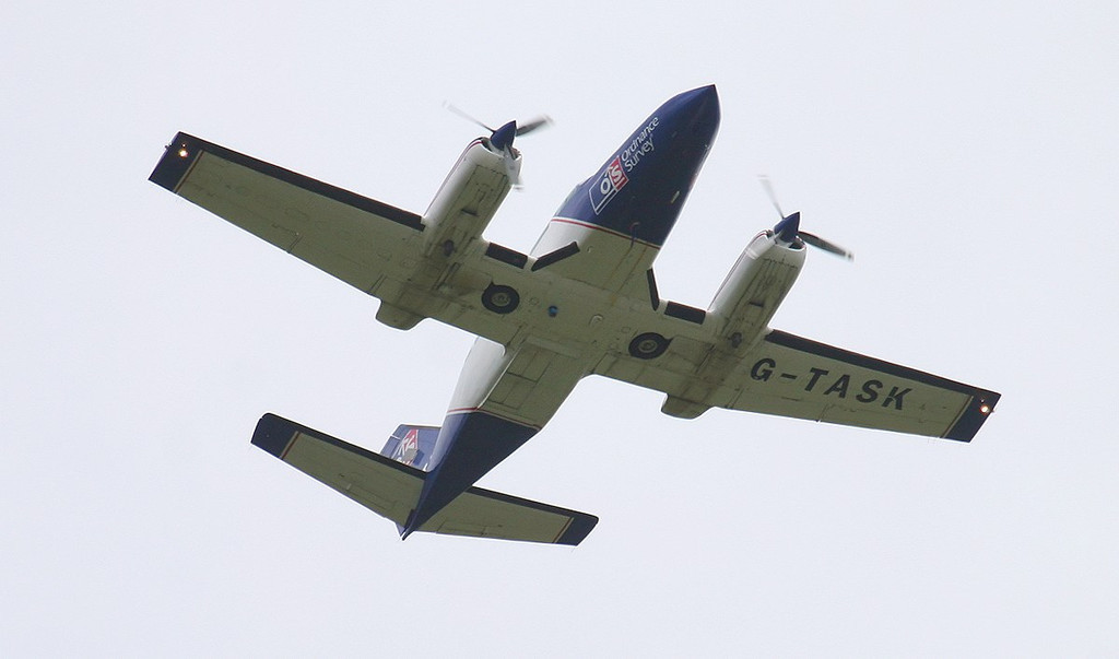 Reconnaissance Ventures Ltd Cessna 404 Titan II, G-TASK<br /> By Correne Calow.