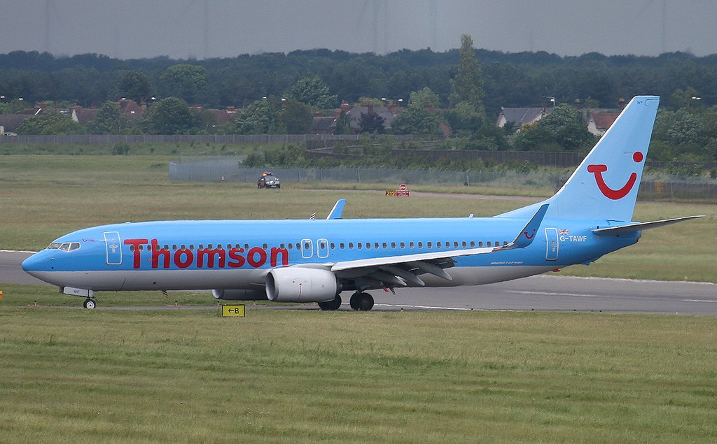 Thomson Airways 737-800 G-TAWF<br /> By Correne Calow.