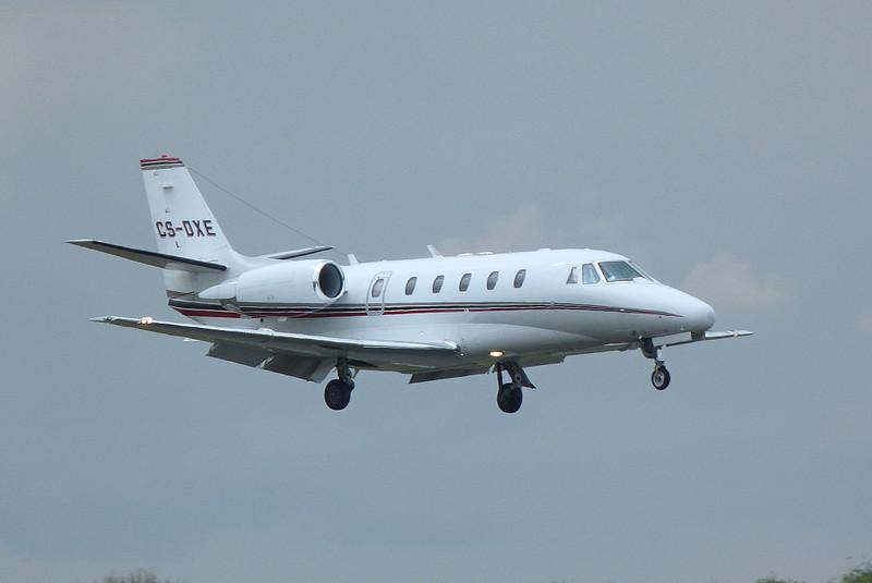 NetJets Europe Cessna 560XLS Citation XLS. CS-DXE.<br /> By Clive Featherstone.
