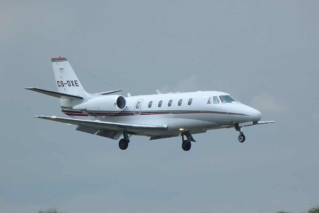 NetJets Europe Cessna 560XLS Citation XLS. CS-DXE.<br /> By Clive Featherstone.