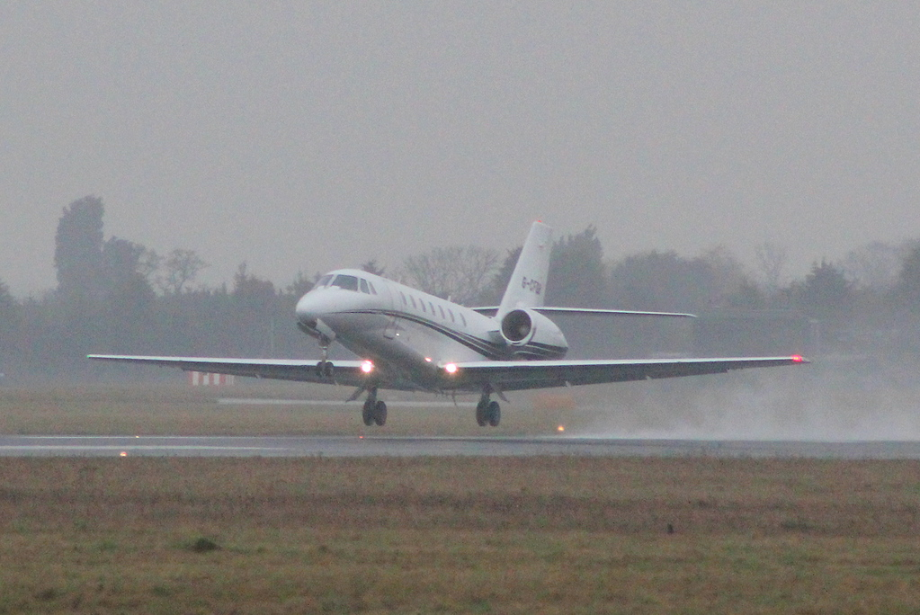 Cessna 680 Citation Sovereign G-CFGB<br /> By Clive Featherstone.
