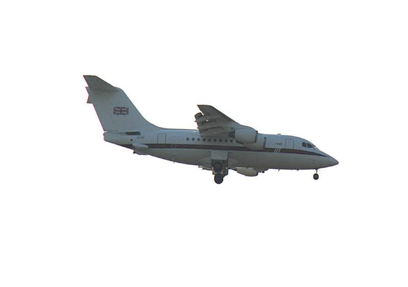 RAF BAe 146 CC2 ZE700<br /> By Graham Vlacho.